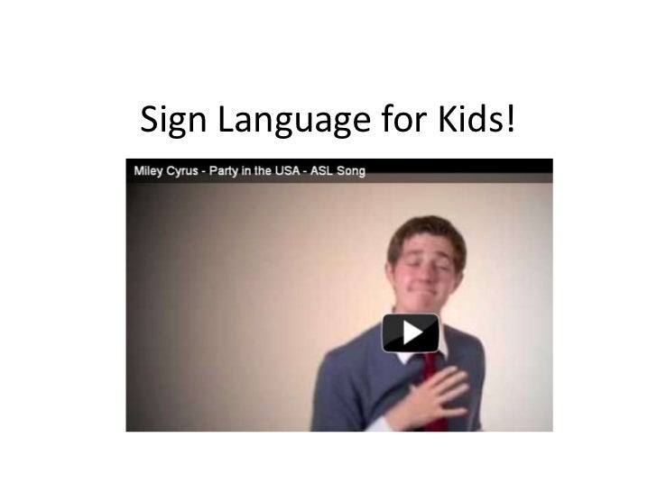 Sign Language for Kids!<br />