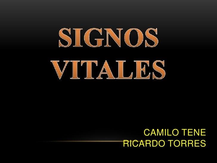CAMILO TENERICARDO TORRES