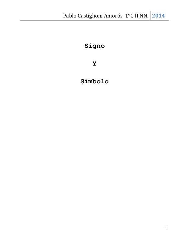 Signo y símbolo