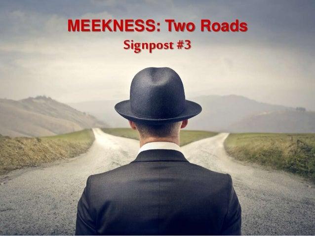 MEEKNESS: Two Roads Signpost #3