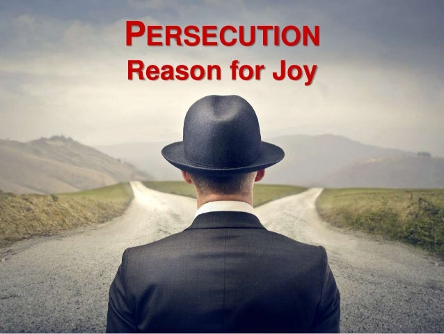 Persecution - Reason for Joy