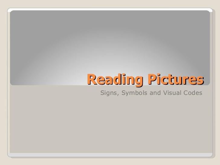 Signs, symbols and visual codes