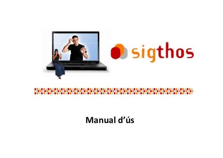 Sightos - Manual d'ús