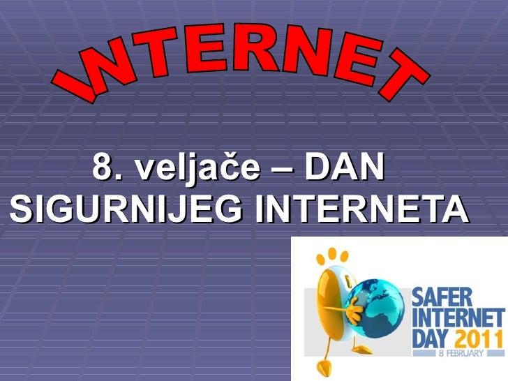 8. veljače – DAN SIGURNIJEG INTERNETA INTERNET