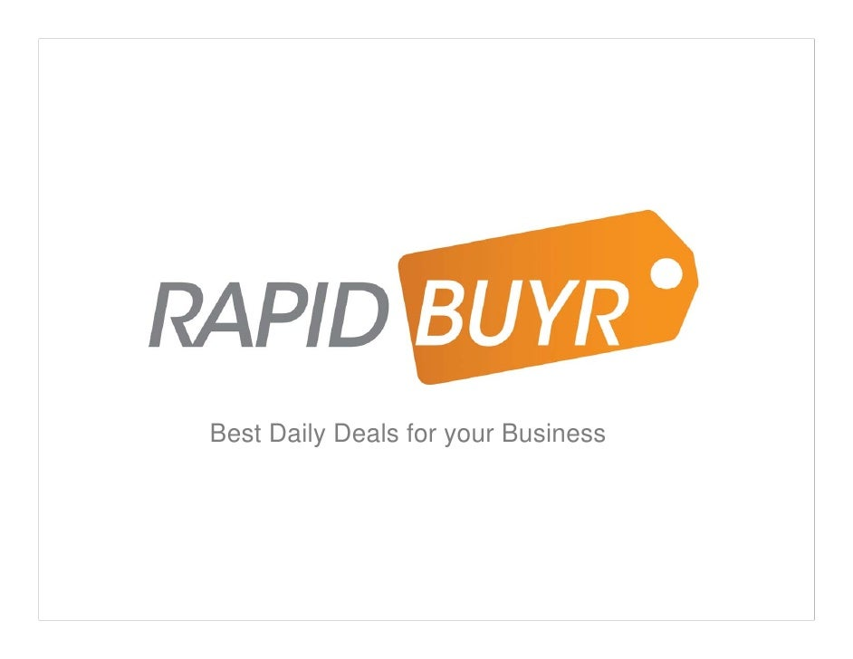 SIIA Previews: RapidBuyr