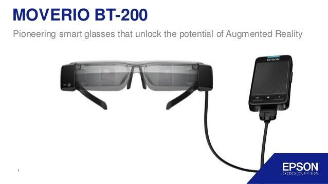46 smart glasses epson