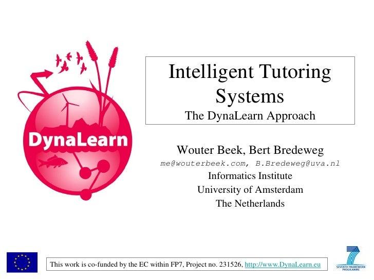 Intelligent Tutoring                                             Systems                                           The Dyn...