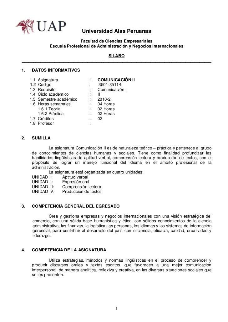 Universidad Alas Peruanas                              Facultad de Ciencias Empresariales               Escuela Profesiona...