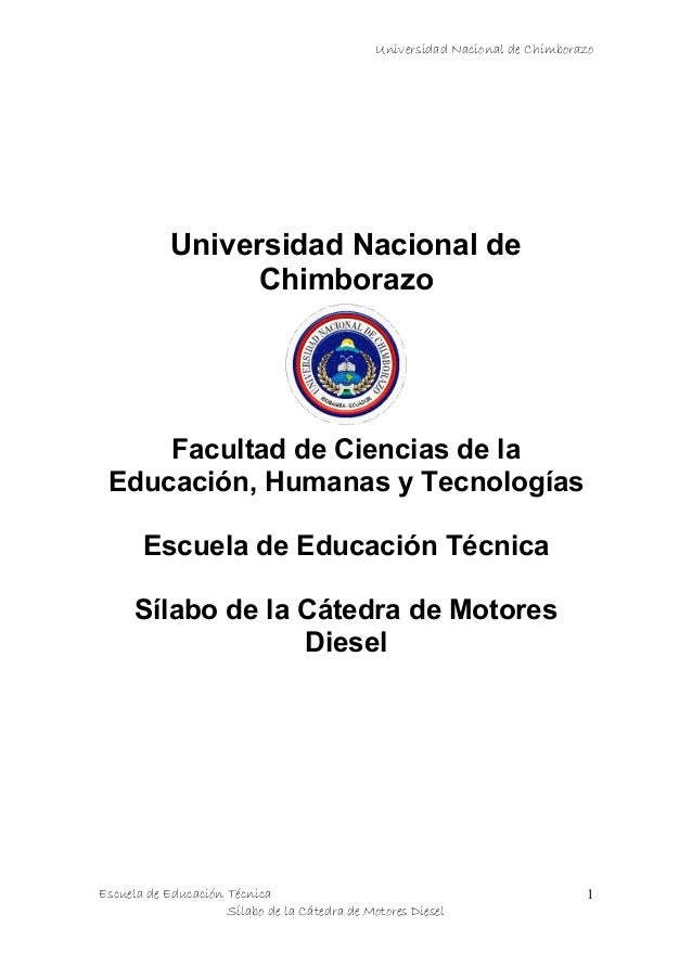 Silabo de motores diesel