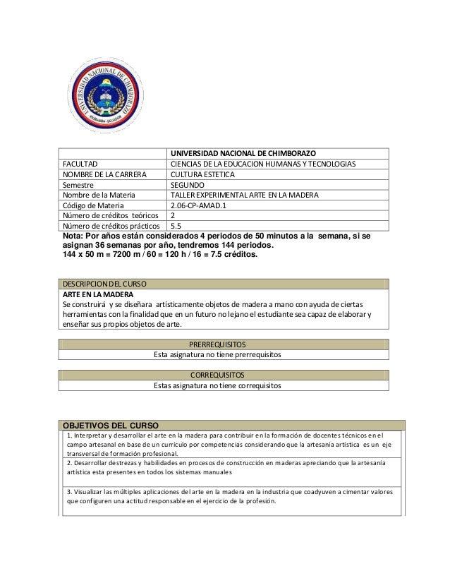 UNIVERSIDAD NACIONAL DE CHIMBORAZO FACULTAD CIENCIAS DE LA EDUCACION HUMANAS Y TECNOLOGIAS NOMBRE DE LA CARRERA CULTURA ES...