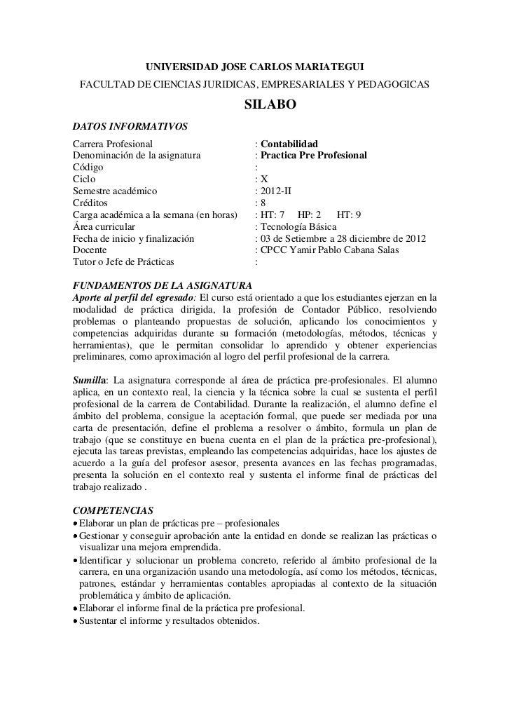 UNIVERSIDAD JOSE CARLOS MARIATEGUI FACULTAD DE CIENCIAS JURIDICAS, EMPRESARIALES Y PEDAGOGICAS                            ...