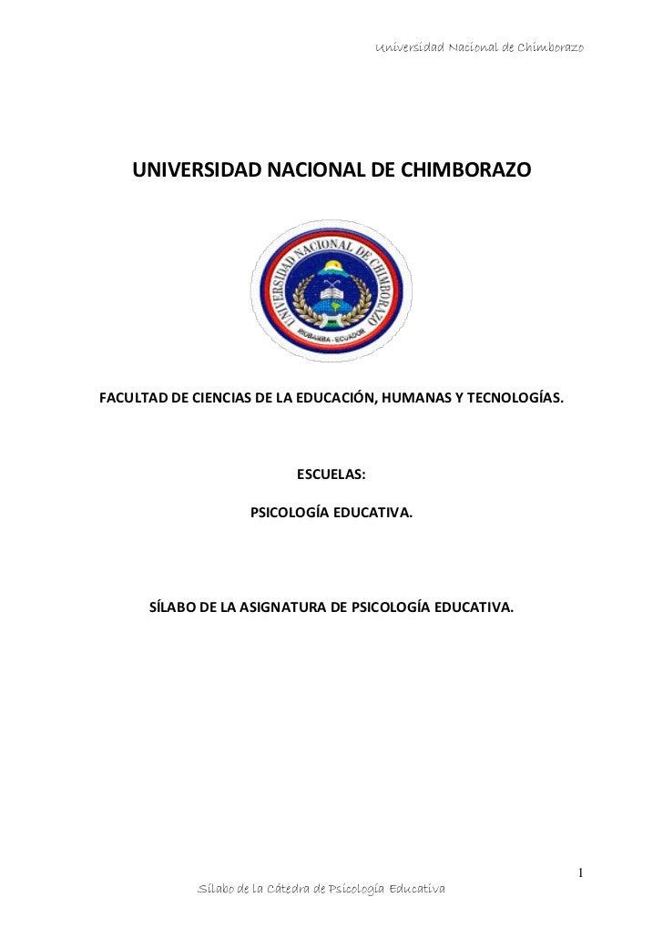 Universidad Nacional de Chimborazo    UNIVERSIDAD NACIONAL DE CHIMBORAZOFACULTAD DE CIENCIAS DE LA EDUCACIÓN, HUMANAS Y TE...