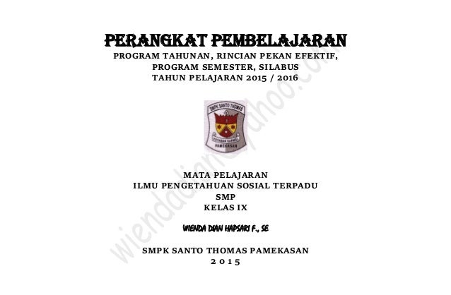 Download Program Semester Smp Ips Free Helperthink