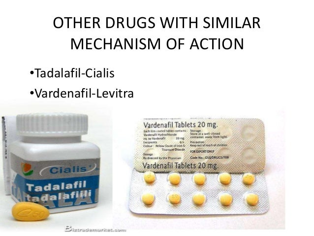 Viagra mechanism of action