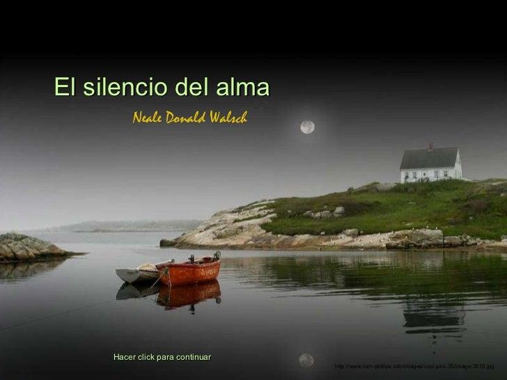 Silencio delalma
