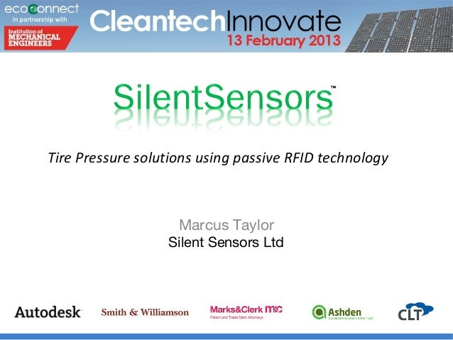 Silent Sensor Cleantech February 2013