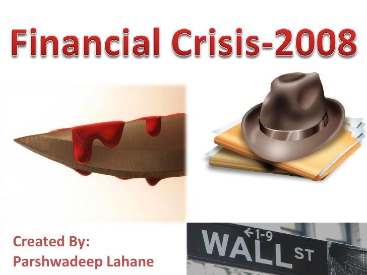 Financial Crisis-2008