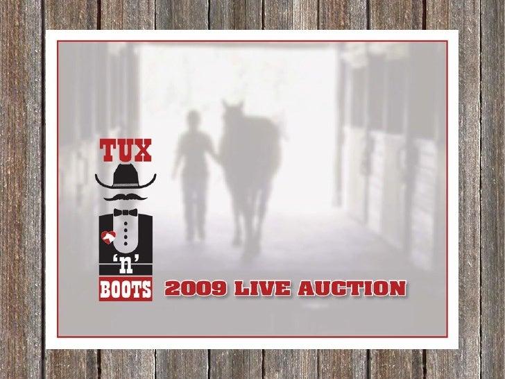 Silent Auction 2009   Wood 2