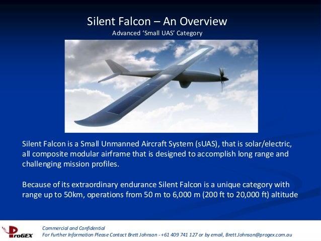 Silent Falcon - Ultra Long Endurance, Electric UAV