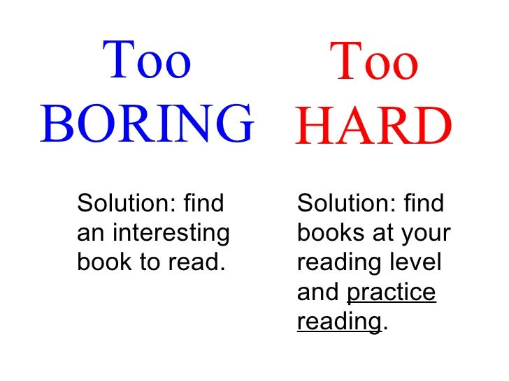 Silent Reading at School - The Fremd High School English Ning