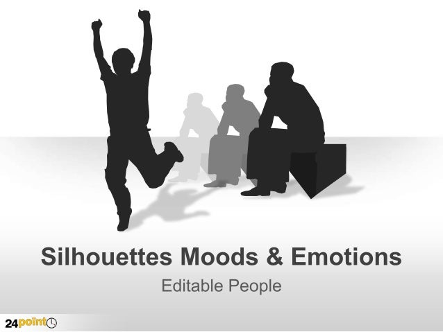 Silhouettes Moods & Emotions Title Insert text Insert text Insert text