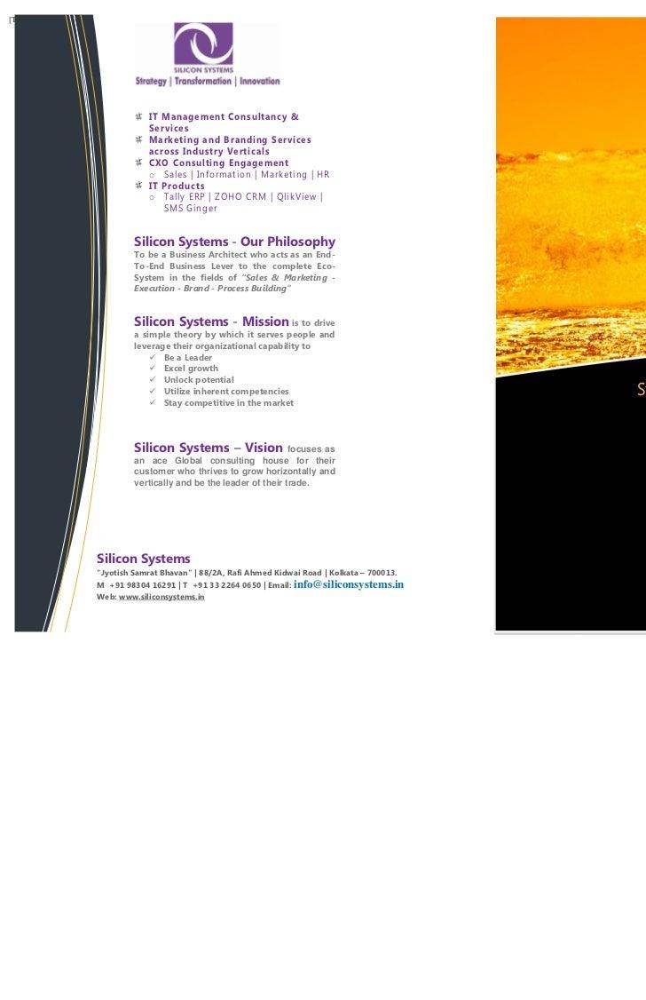 [Type text]                           IT Management Consultancy &                           Services                      ...