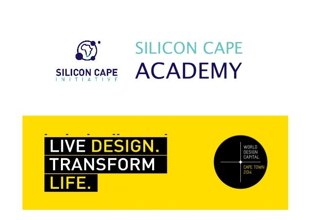 Silicon Cape Academy: World Design Capital 2014