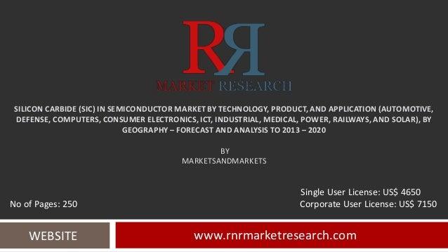 Silicon carbide (si c) in semiconductor market