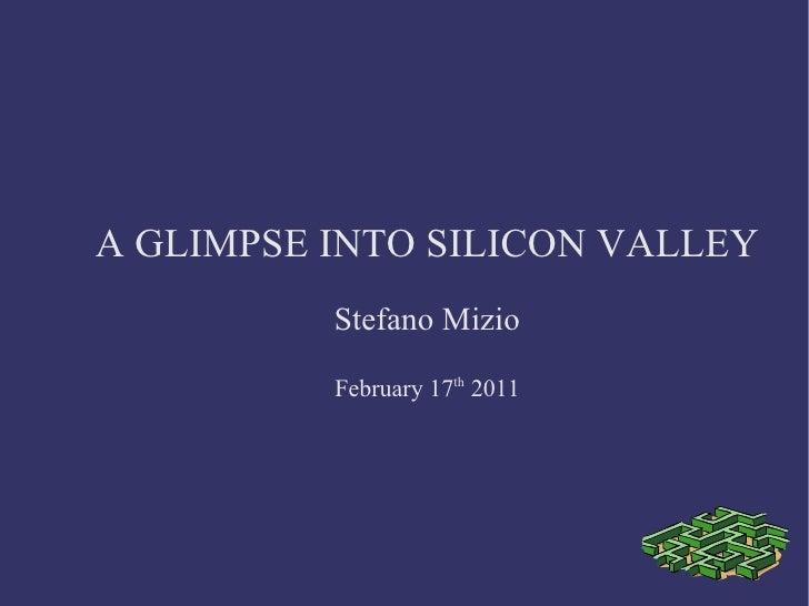 Silicon valley mizio technology scouting  alumni mip february 2011