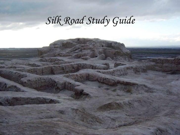 Silk road study guide