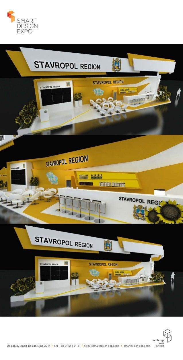 Project of exhibition stand for Stavropol Region & Silla Gmbh.