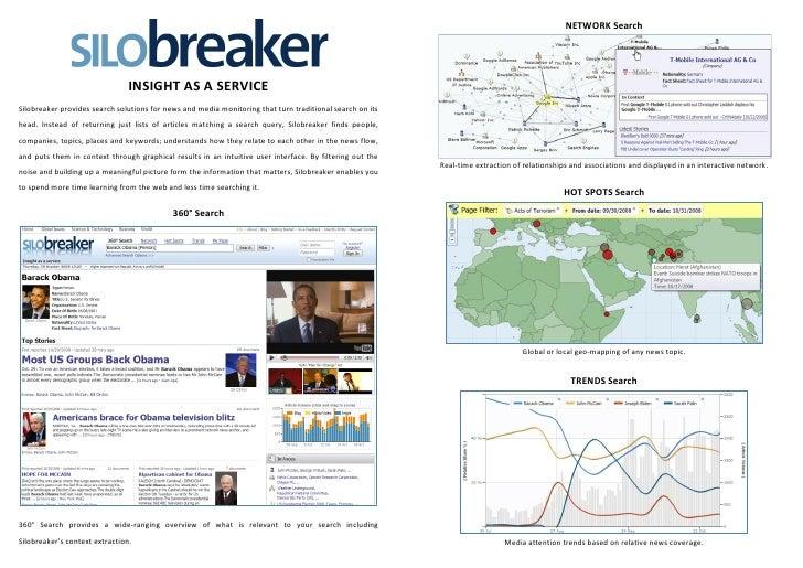 200811 Silobreaker Brochure 2008 11