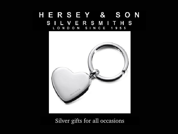 Silver gifts for all occasions