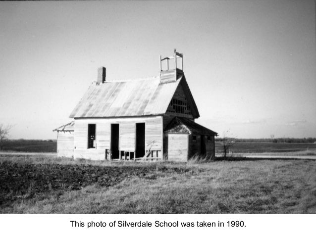 This photo of Silverdale School was taken in 1990.