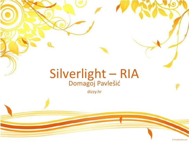 Silverlight Business Overview