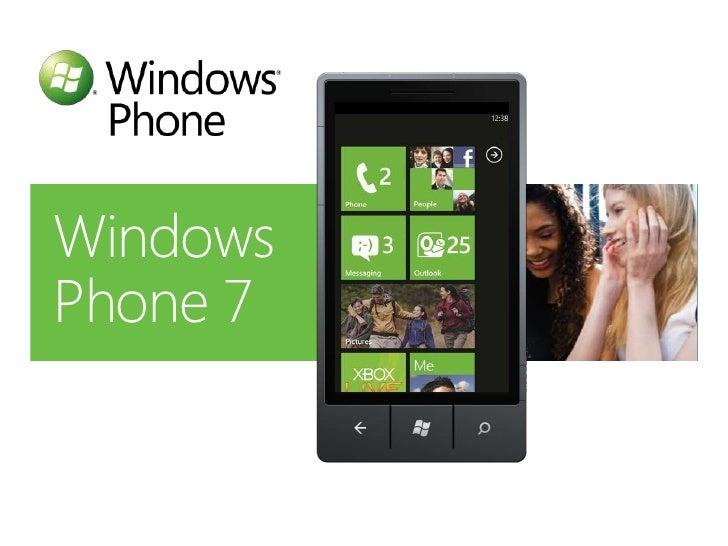 Mike Ormond: Silverlight for Windows Phone 7 (UK TechDays)