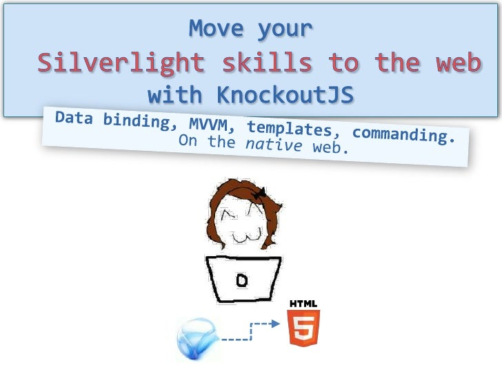 Move Your Silverlight Skills to the Native Web with KnockoutJS