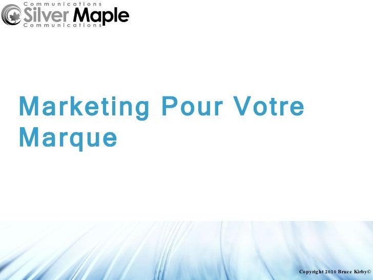 Silver Maple Communications Corporate Presentation Fr