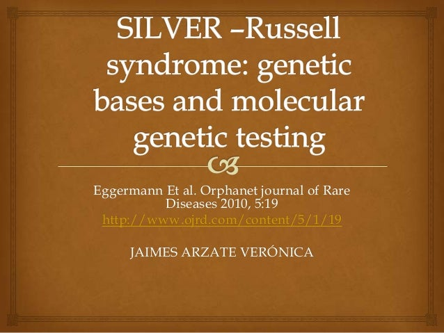 Silver –russell syndrome