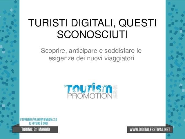 Silvia Sola - #TURISMO: il futuro è oggi