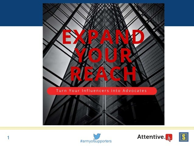 Webinar: Reach 68x More Supporters on Social Media When You Turn Influencers into Advocates