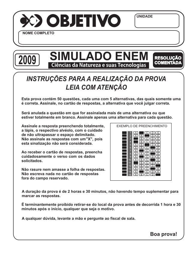 2 – ENEM/2009