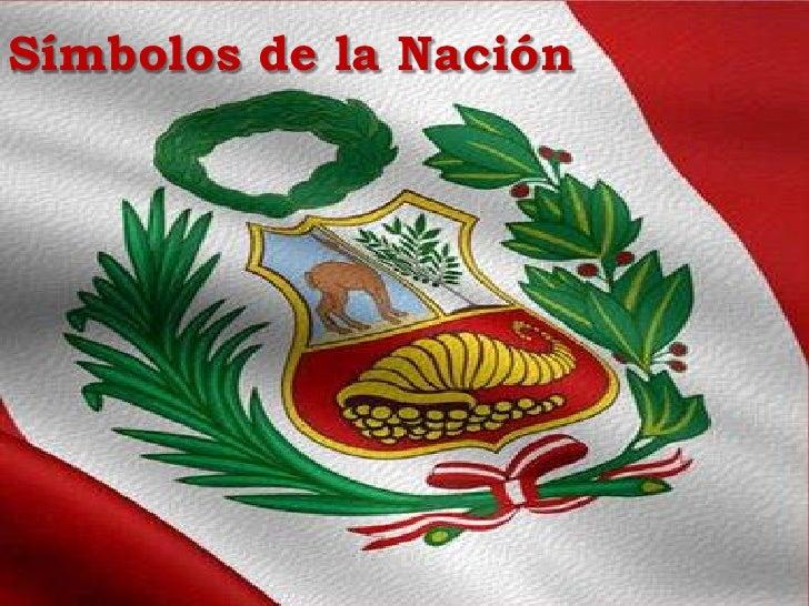 Simbolos  de la Nación