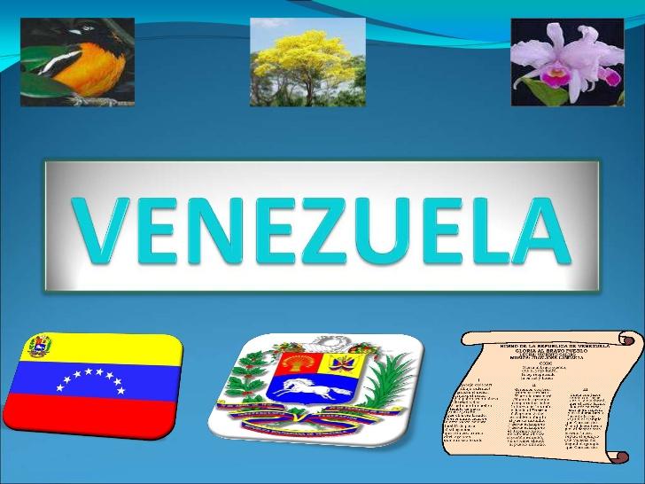 Simbolos naturales de venezuela