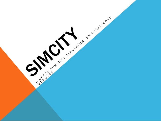 Simcity Presentation