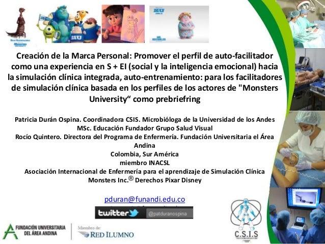Sim coaching sim branding patricia duran rocio quintero orlando 2014 spanish version