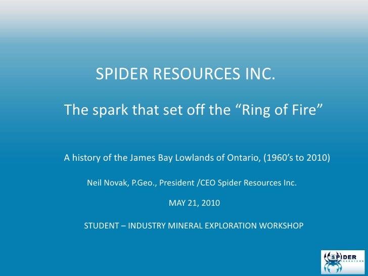 Student–Industry Mineral Exploration Workshop