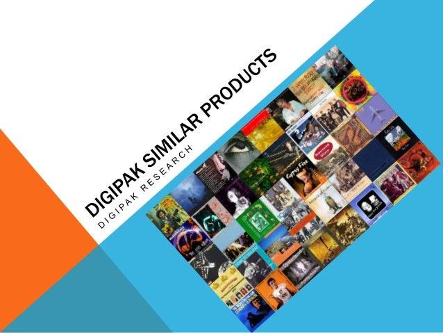 Similar Products DigiPaks