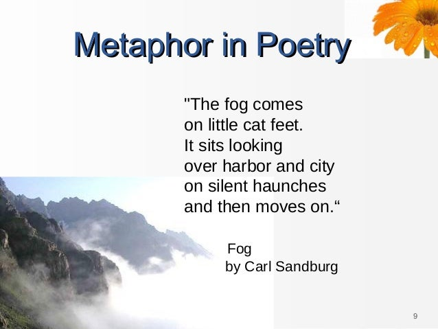metaphor poems Rating: metaphor poems by: sandy you've got great poems for me to use to teach literary devices to my third graders, but nothing on metaphors.