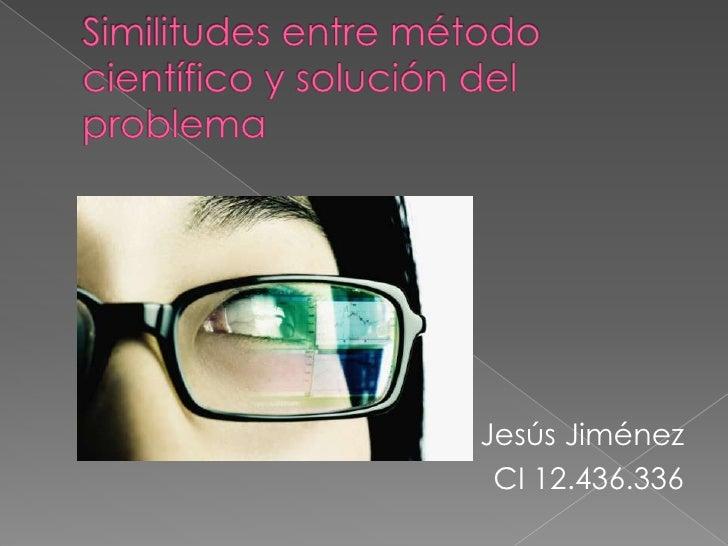 Jesús Jiménez CI 12.436.336